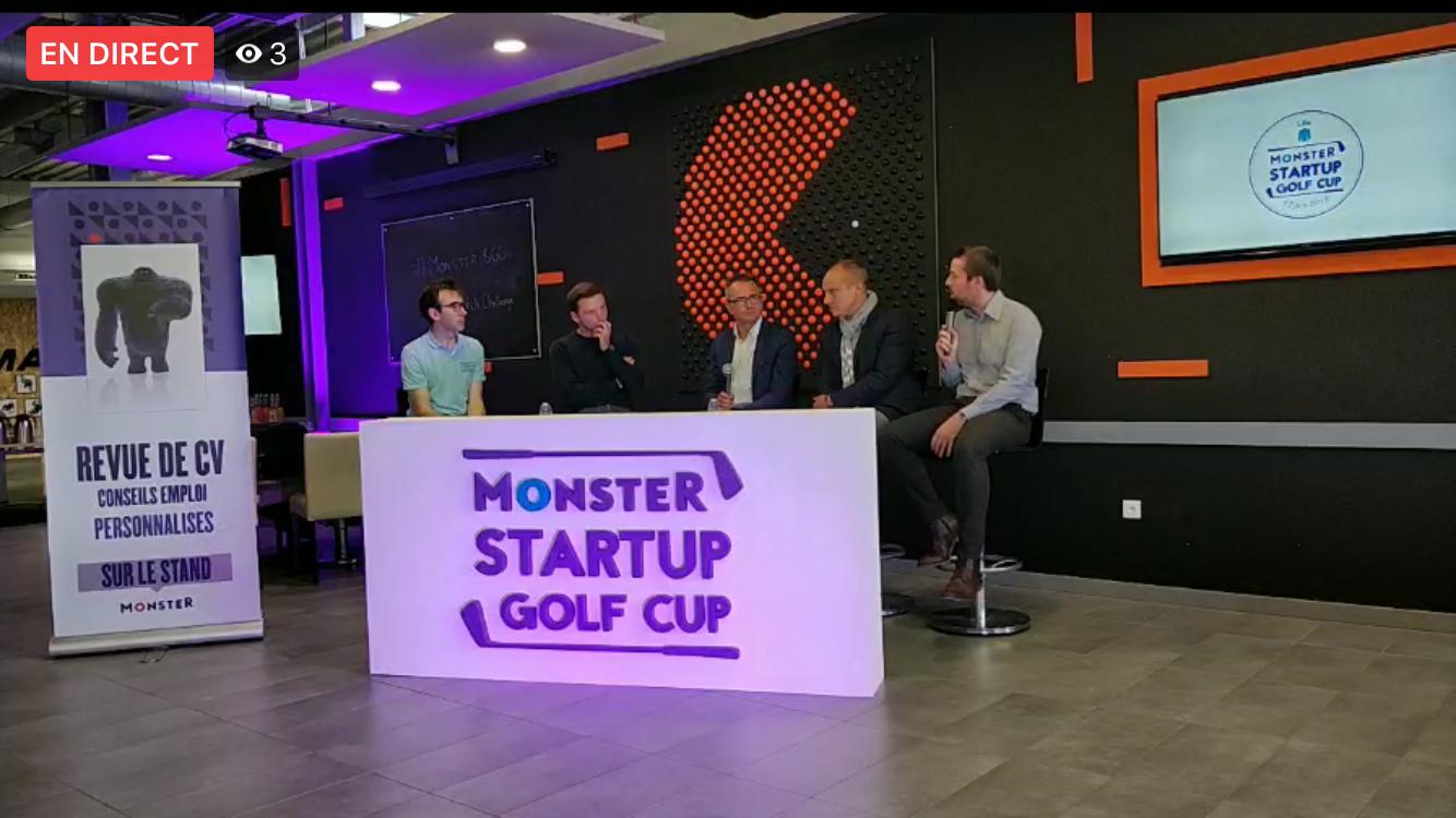 monster startup golf club