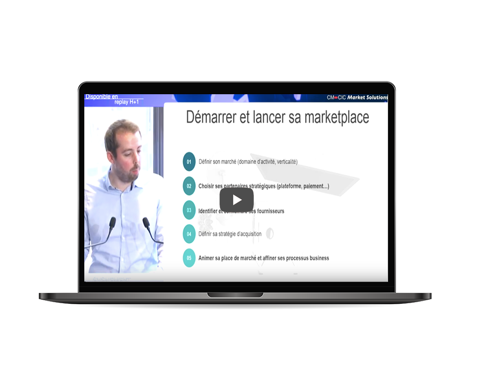 vidéo workshops démarrer marketplace