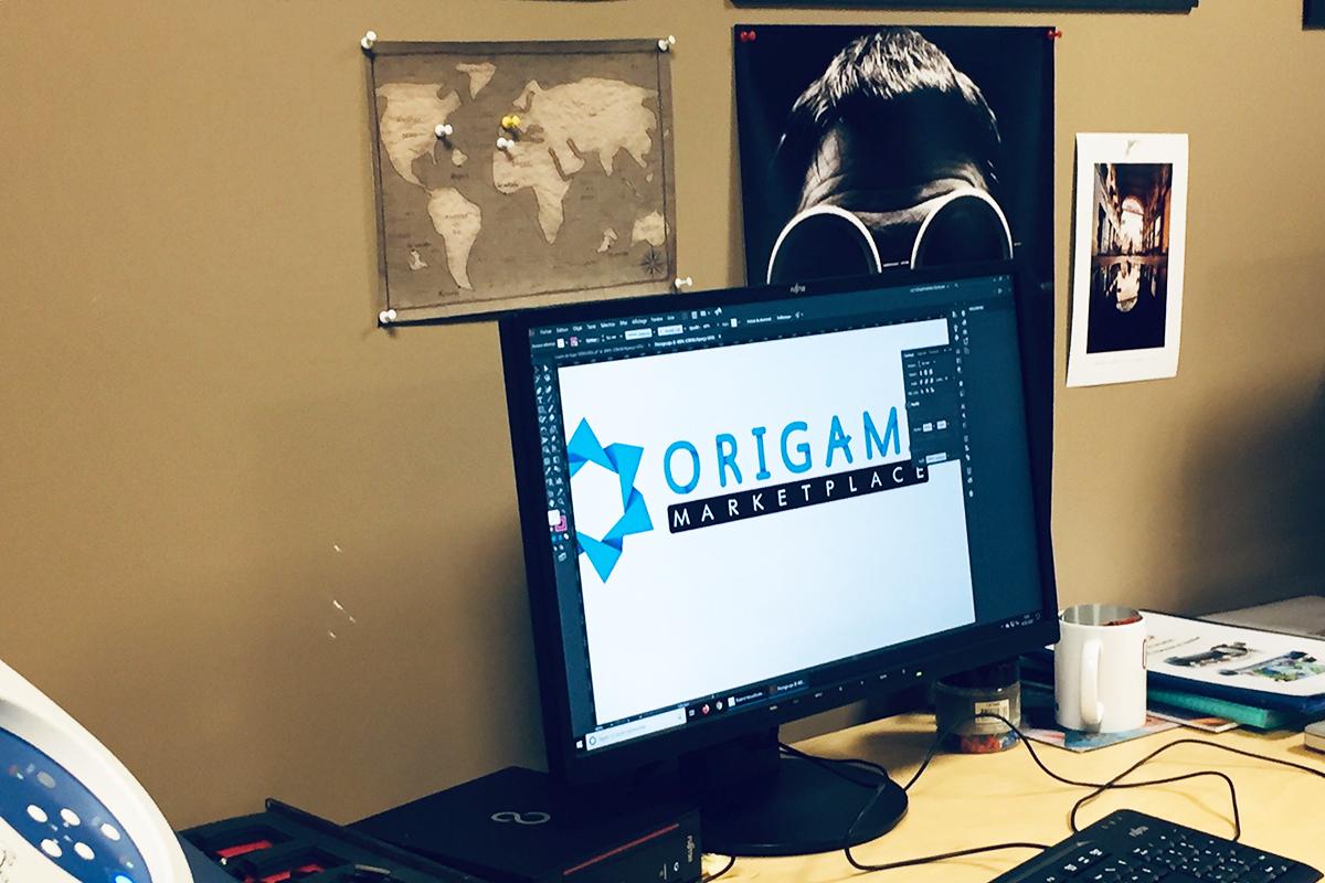 Origami team building