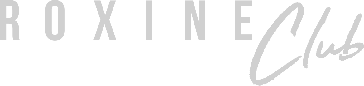 client Roxine club logo gris