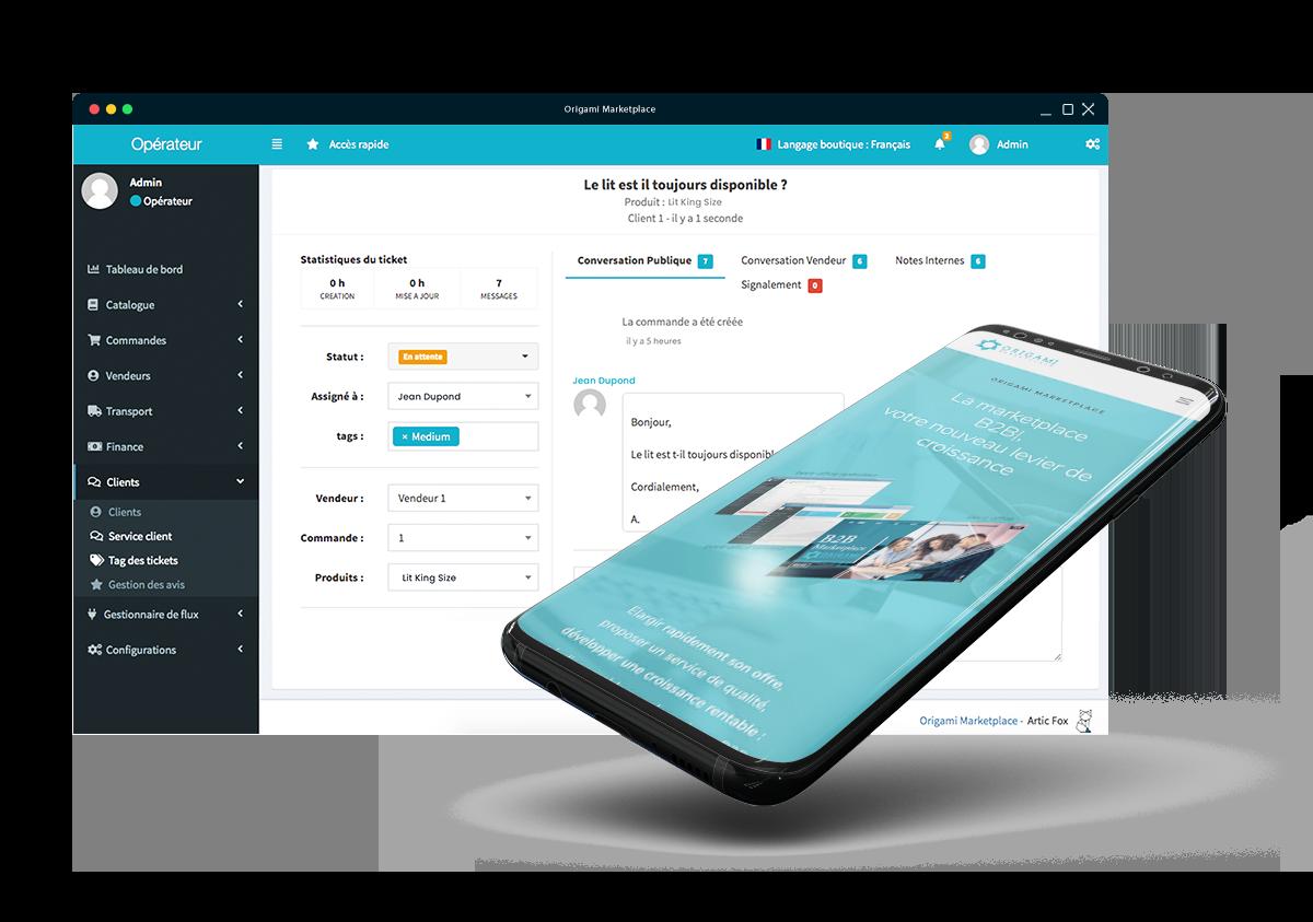 Webinar Marketplace - gérer son service client