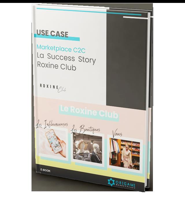E-book marketplace C2C Roxine Club