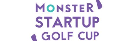 Logo monster startup golf club