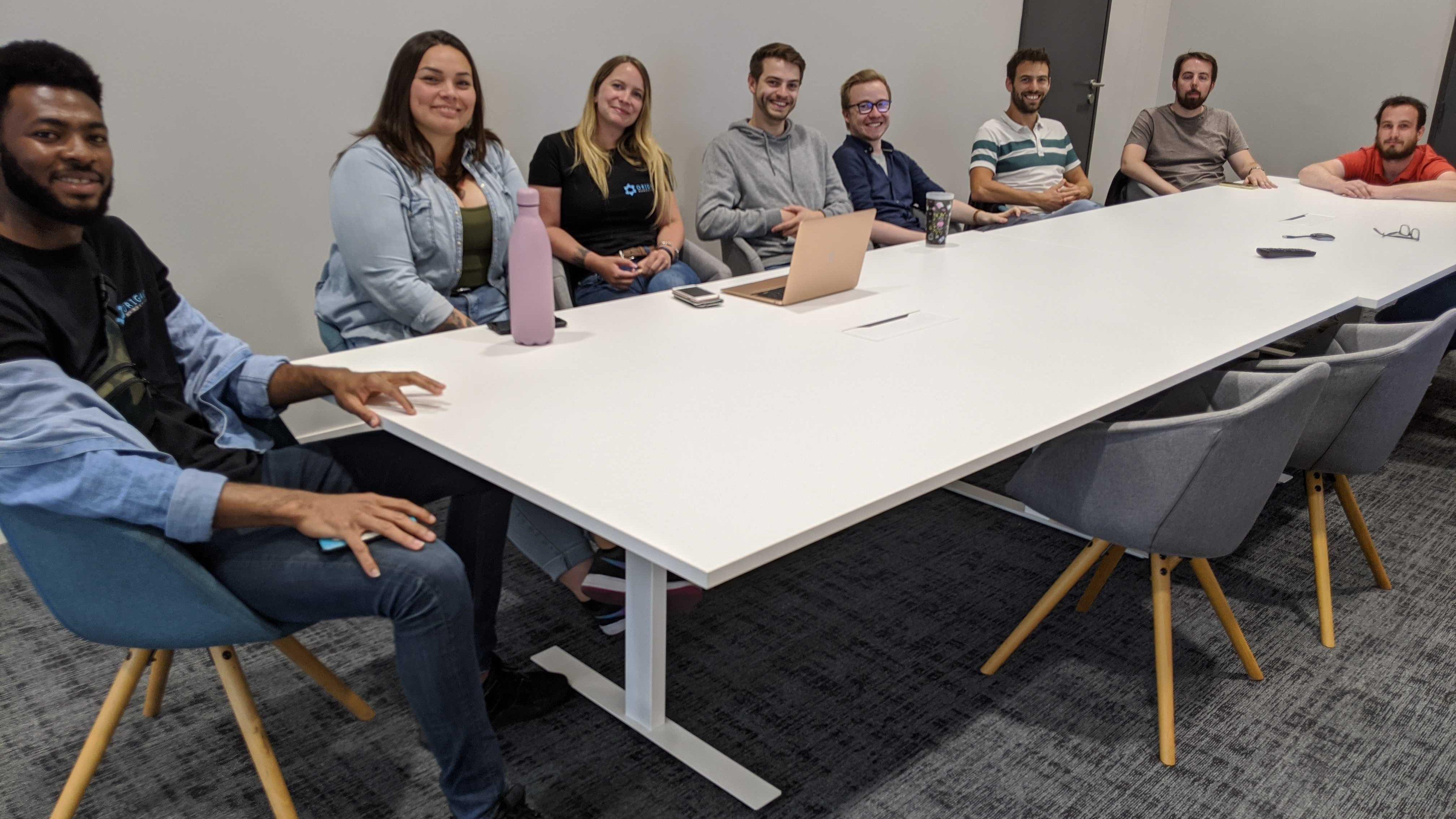 Team Building Origami Juillet 2020
