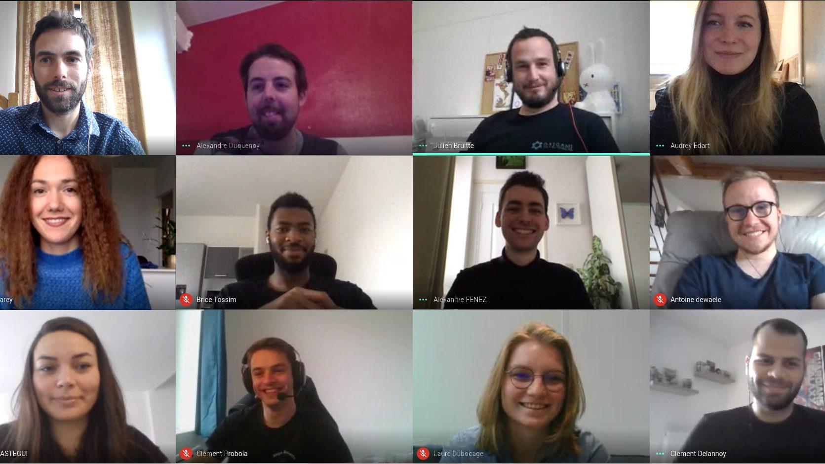 Equipe Origami Marketplace 2020