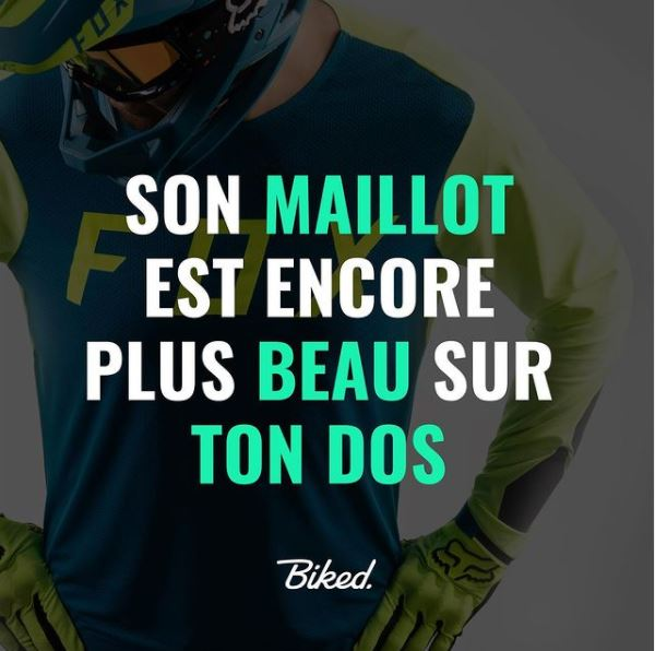 Maillot seconde main sur biked